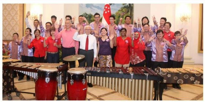 AngKlung National Day4